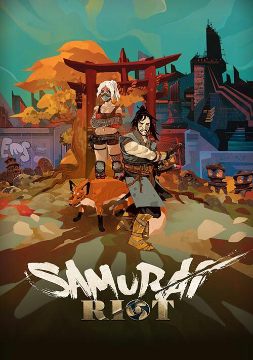 Samurai Riot - Cover
