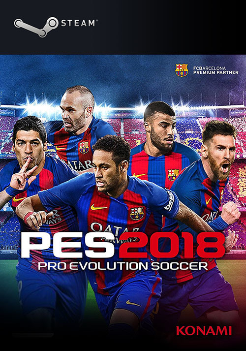 PRO EVOLUTION SOCCER 2018 - Cover