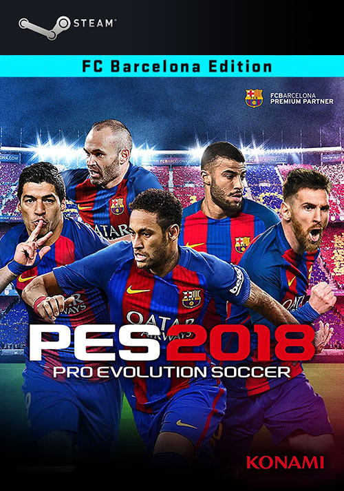 Pro Evolution Soccer 2018 Barcelona Edition - Packshot