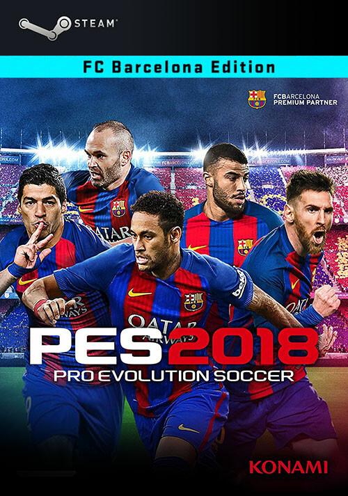 PRO EVOLUTION SOCCER 2018 - FC Barcelona Edition - Cover