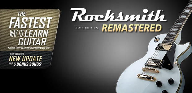Rocksmith® 2014 Edition – Remastered - Cover / Packshot