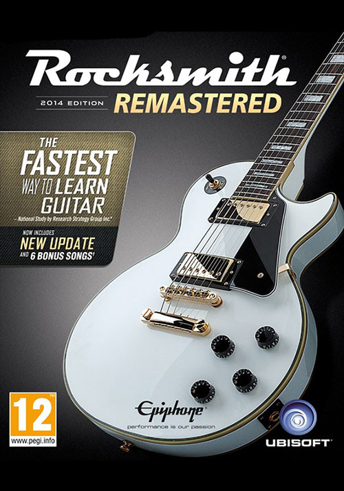 Rocksmith® 2014 Edition – Remastered - Cover