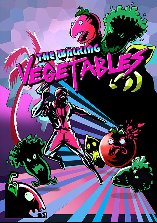 The Walking Vegetables - Cover / Packshot