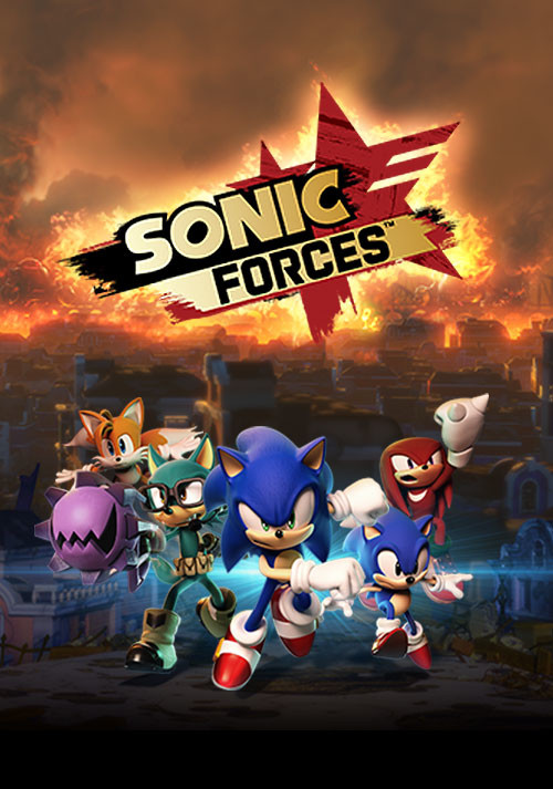 Sonic Forces - Cover / Packshot