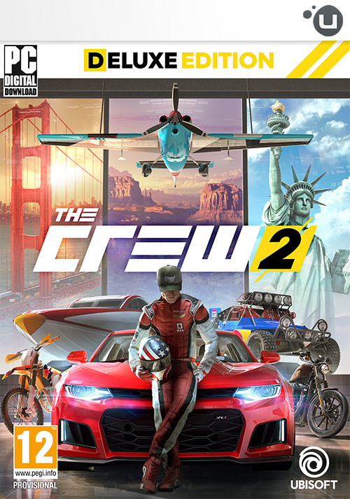 The Crew 2 - Deluxe Edition - Cover / Packshot