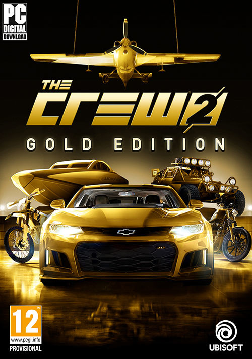 The Crew 2 - Gold Edition - Cover