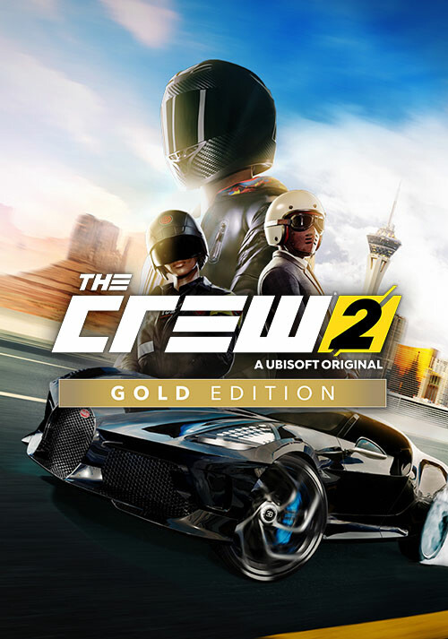 The Crew 2 - Gold Edition - Cover / Packshot