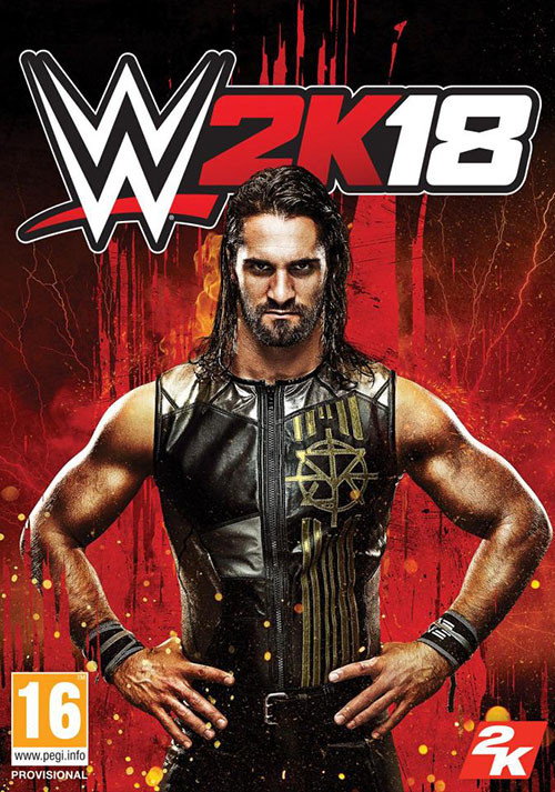 WWE 2K18 - Cover
