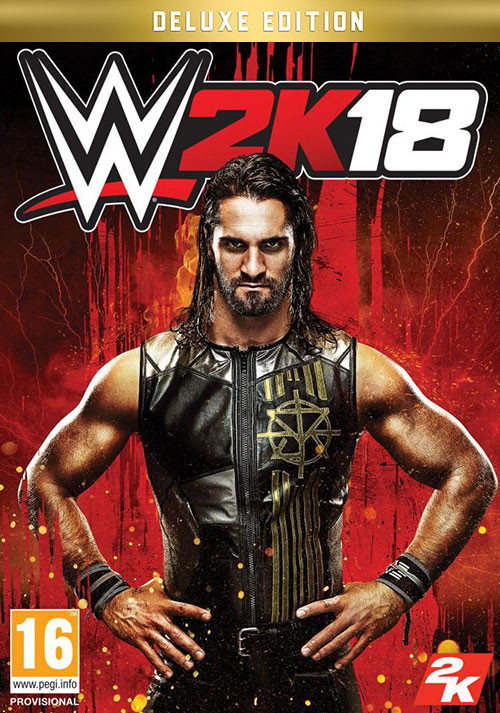 WWE 2K18 Digital Deluxe Edition - Cover