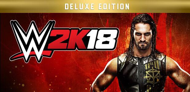 WWE 2K18 Digital Deluxe Edition - Cover / Packshot
