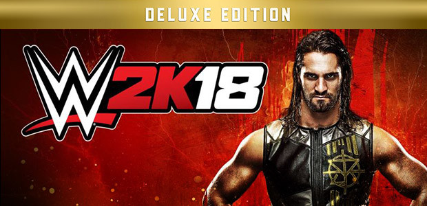 WWE 2K18 Digital Deluxe Edition - Cover / Packshot