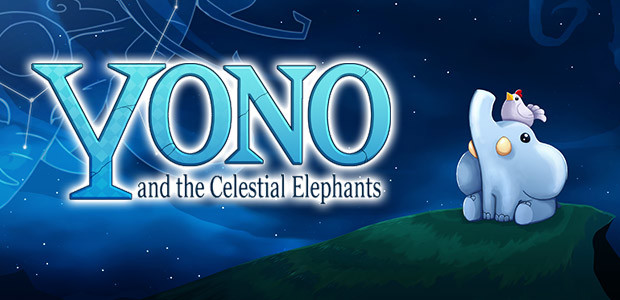 Yono and the Celestial Elephants - Cover / Packshot