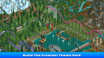 Screenshot1 - RollerCoaster Tycoon Classic