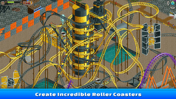 Screenshot2 - RollerCoaster Tycoon Classic
