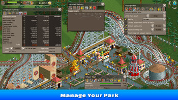 Screenshot3 - RollerCoaster Tycoon Classic