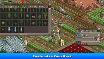 Screenshot4 - RollerCoaster Tycoon Classic