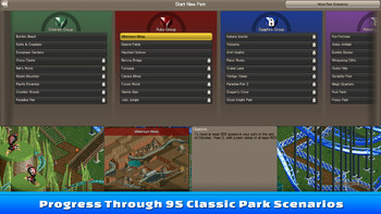 Screenshot5 - RollerCoaster Tycoon Classic