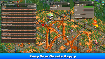 Screenshot6 - RollerCoaster Tycoon Classic