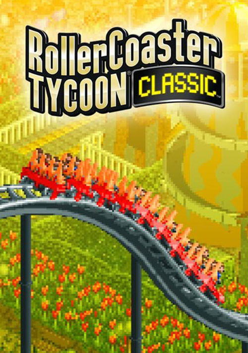 RollerCoaster Tycoon Classic - Cover / Packshot