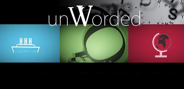 unWorded - Cover / Packshot