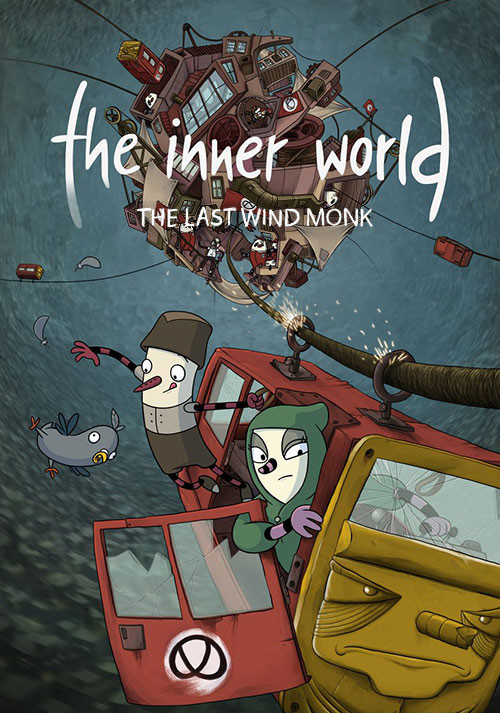 The Inner World - The Last Wind Monk - Cover / Packshot