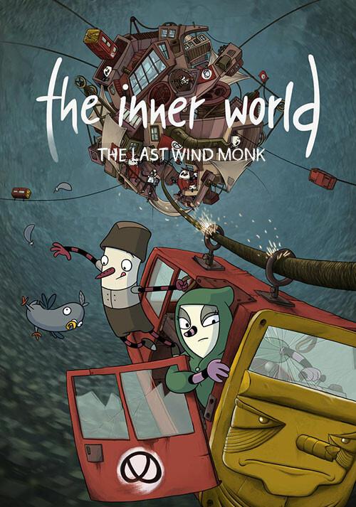 The Inner World - The Last Wind Monk - Packshot