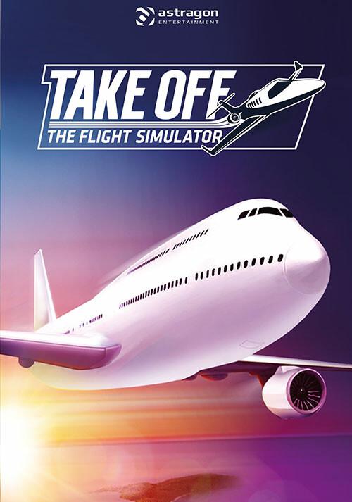 Take Off - The Flight Simulator - Packshot