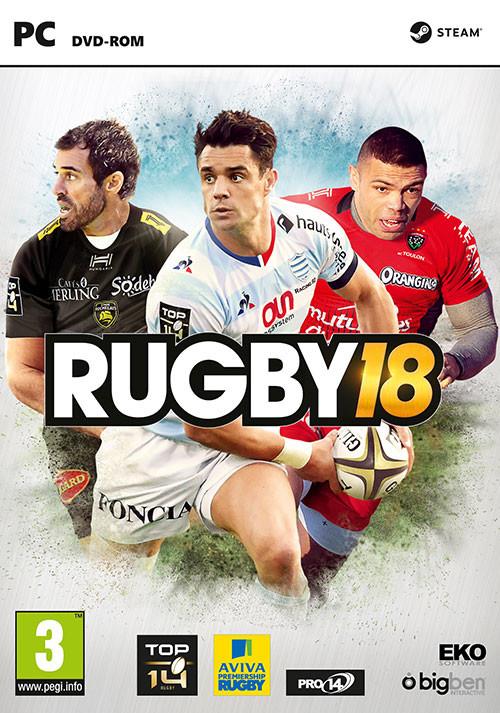 RUGBY 18 - Cover