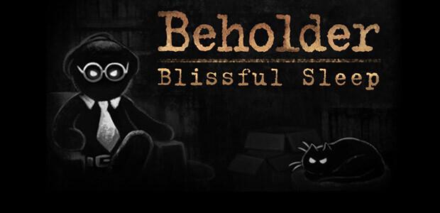 Beholder - Blissful Sleep - Cover / Packshot