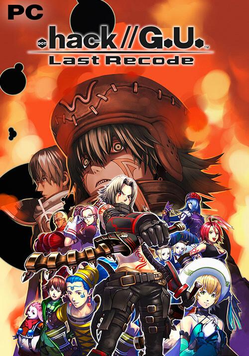 .hack//G.U. Last Recode - Cover