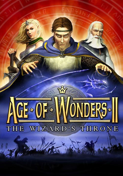 Age of Wonders II: The Wizard's Throne - Cover