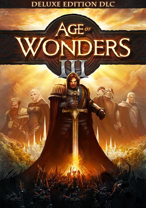 Age of Wonders III - Deluxe Edition DLC - Cover / Packshot