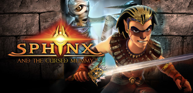 Sphinx and The Cursed Mummy - Cover / Packshot