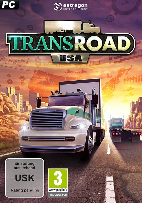 TransRoad: USA - Cover / Packshot