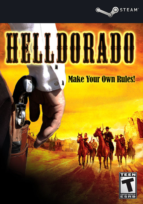 Helldorado - Cover / Packshot