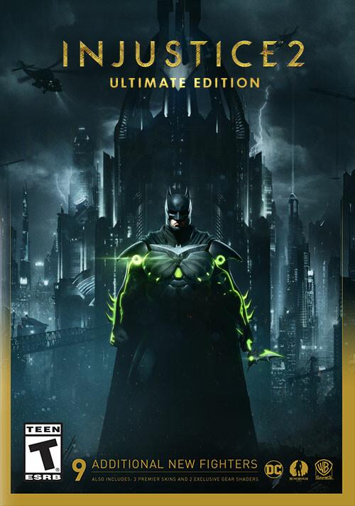Injustice 2 - Ultimate Edition - Packshot