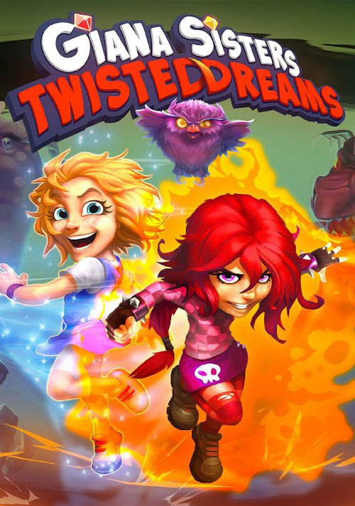 Giana Sisters: Twisted Dreams - Cover / Packshot