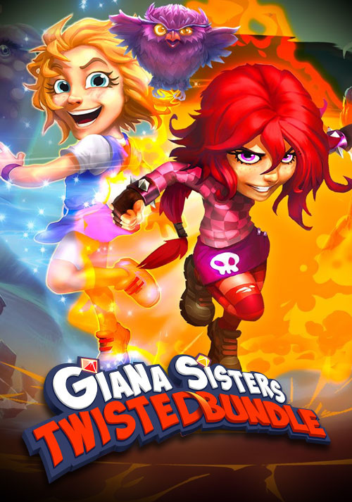 Giana Sisters: Twisted Bundle - Cover / Packshot