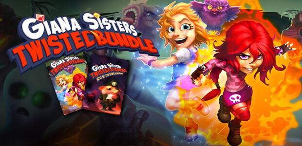Giana Sisters: Twisted Bundle - Cover / Packshot