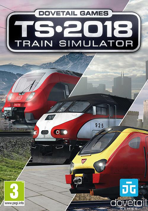 Train Simulator 2018 - Cover / Packshot