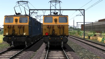 Screenshot1 - Train Simulator: Woodhead Electric Railway in Blue Route Add-On