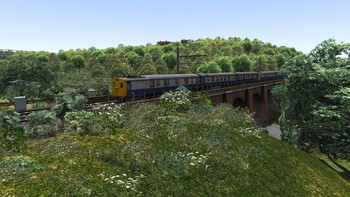 Screenshot4 - Train Simulator: Woodhead Electric Railway in Blue Route Add-On