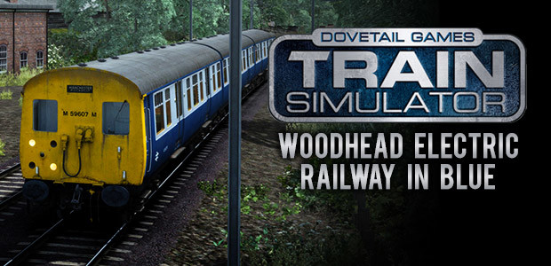 Train Simulator: Woodhead Electric Railway in Blue Route Add-On - Cover / Packshot