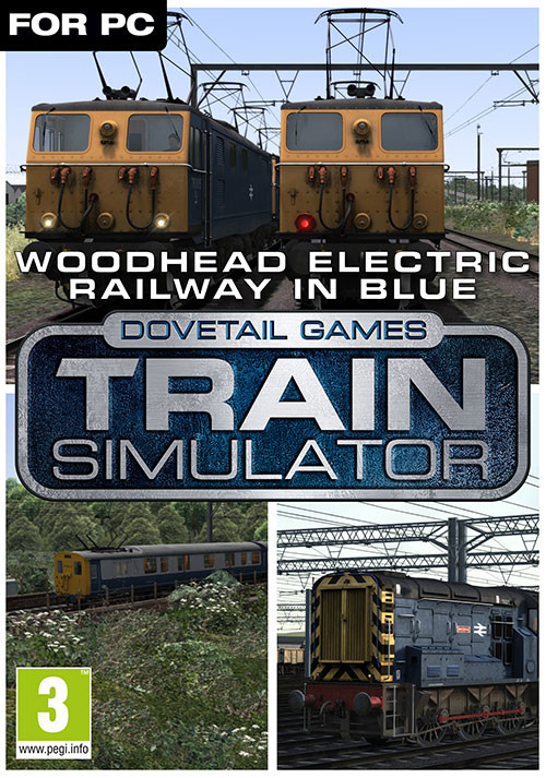 Train Simulator: Woodhead Electric Railway in Blue Route Add-On - Cover