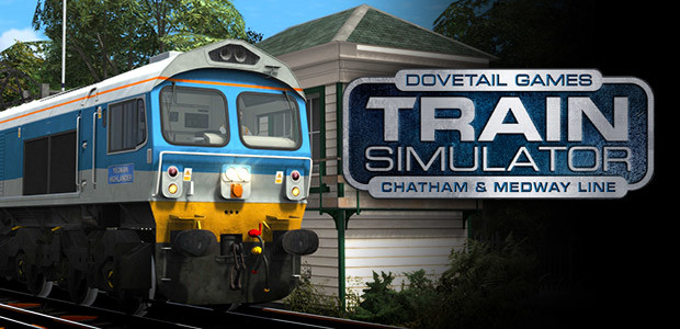 Train Simulator: Chatham Main & Medway Valley Lines Route Add-On - Cover / Packshot