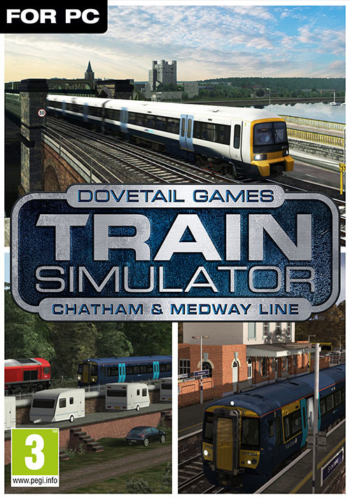 Train Simulator: Chatham Main & Medway Valley Lines Route Add-On - Cover