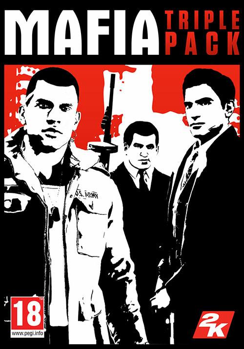 Mafia Triple Pack - Cover