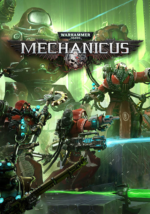 Warhammer 40,000: Mechanicus - Cover