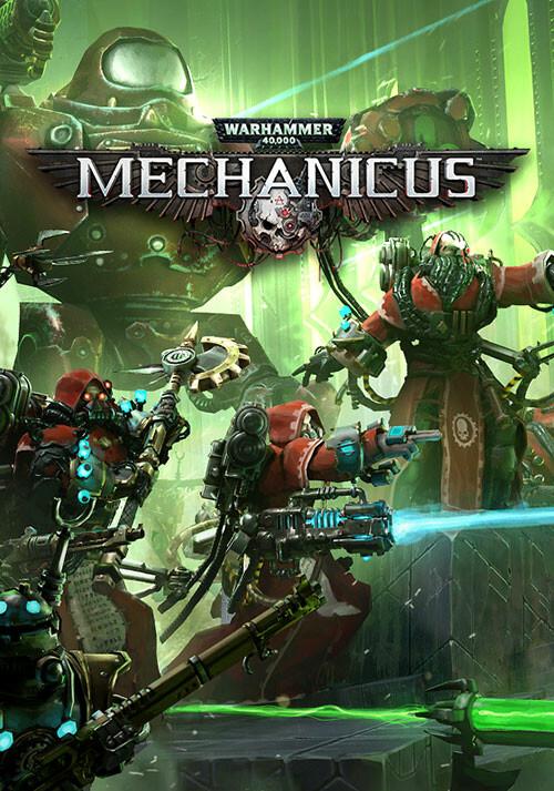 Warhammer 40,000: Mechanicus - Cover