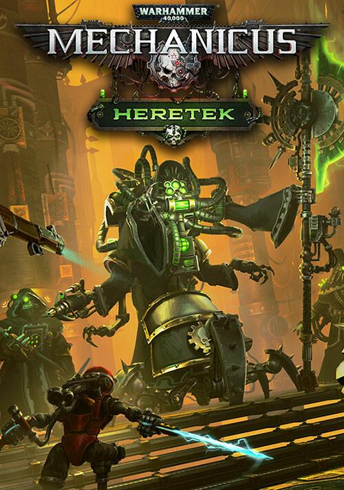 Warhammer 40,000: Mechanicus - Heretek - Cover / Packshot